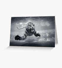 Underwater Danger Greeting Card