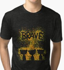 The Brave - Dark Bears  Tri-blend T-Shirt