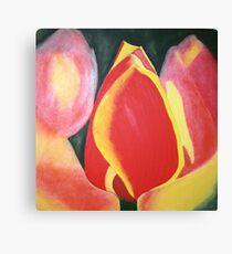 BLAZE FLOWER Canvas Print