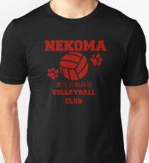 Camiseta unisex nekoma voleibol club rojo