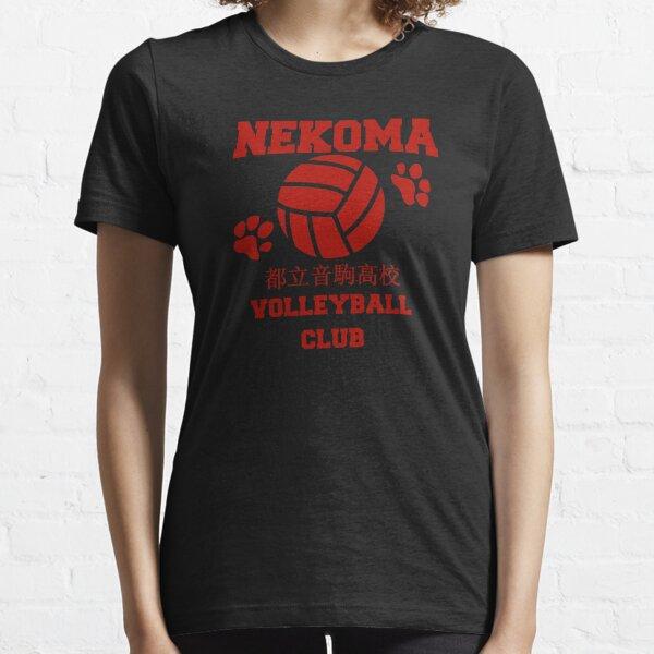 nekoma volleyball club red Essential T-Shirt