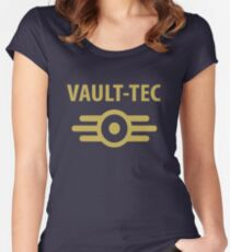 Fallout - Vault Tec Women's Fitted Scoop T-Shirt