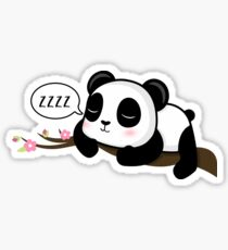 ZZZZ! Sleeping Panda Sticker