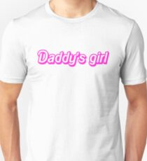 Hot Pink Daddy's Girl Unisex T-Shirt