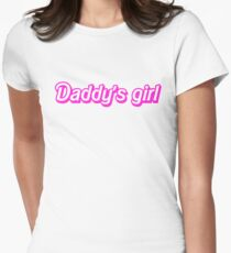 Hot Pink Daddy's Girl T-Shirt