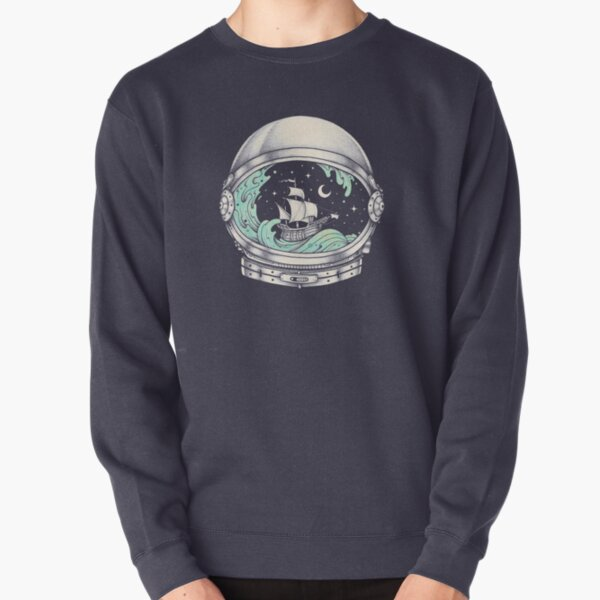 Spaceship Pullover Sweatshirt