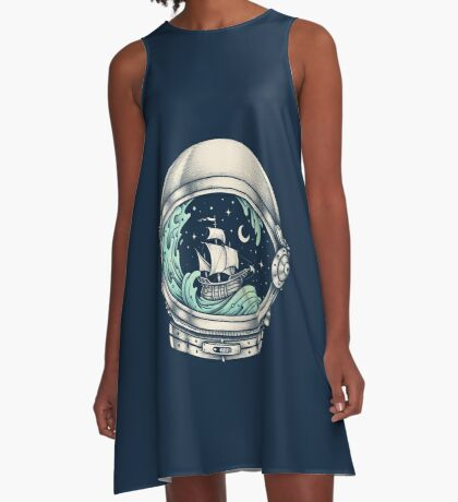 Spaceship A-Line Dress