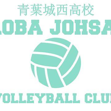 aoba johsai volleyball club by hawkeyedpeas