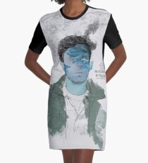 Manchester by the Sea Graphic T-Shirt Dress
