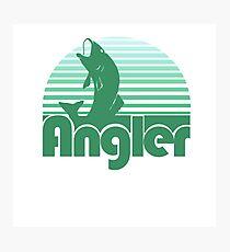 Angler Photographic Print