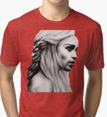 Daenerys fanart GOT Tri-blend T-Shirt