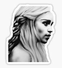 Daenerys fanart GOT Sticker