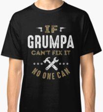 Camiseta clásica ¡Grumpa puede arreglarlo!