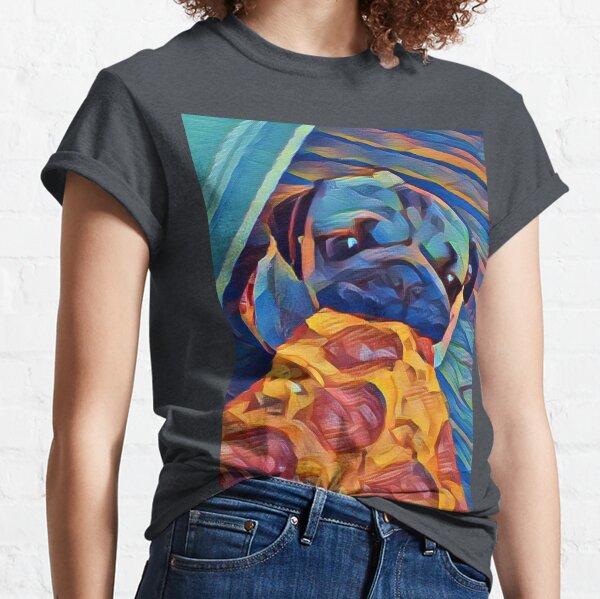 Pizza pug  Classic T-Shirt