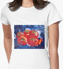 Tomatoes Women's Fitted T-Shirt