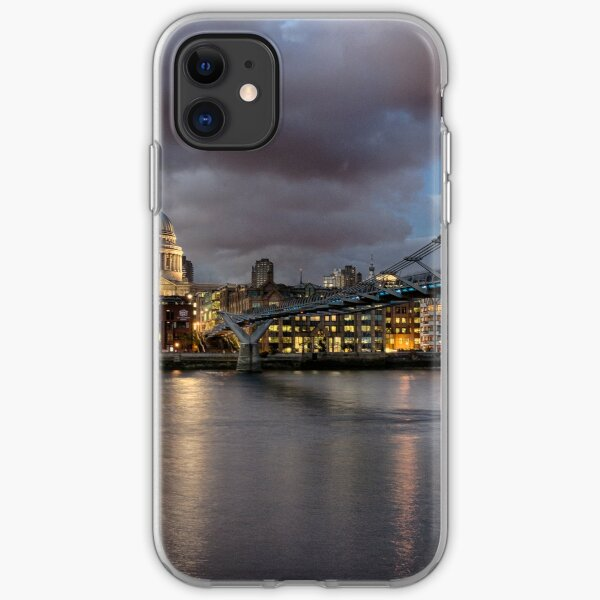 St Paul's Cathedral from across the Thames iPhone Soft Case