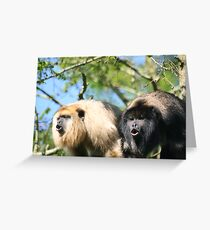 The howlers Greeting Card