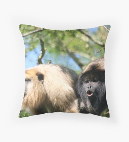 The howlers Throw Pillow