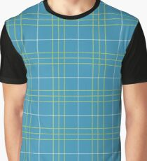Meche Plaid Pattern Graphic T-Shirt