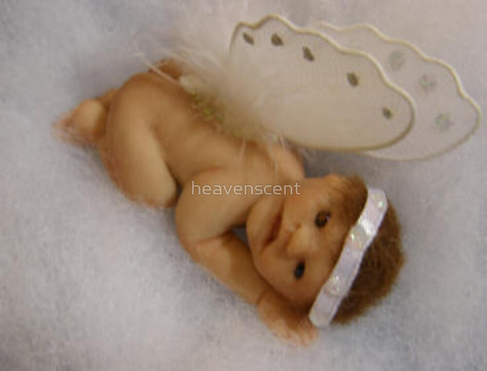 Serenity  Sculpted Baby by heavenscent