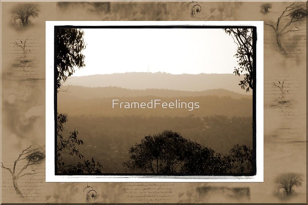 Hazy Sunset by FramedFeelings