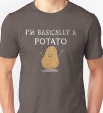I'm A Potato Funny Comic Graphic Food Unisex T-Shirt