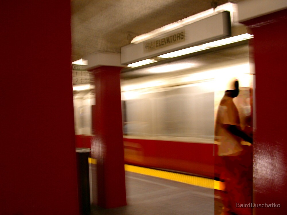 Swallowed by Red Line by BairdDuschatko