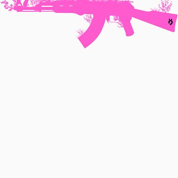 Ak47 Love & Peace (girl) by plastica