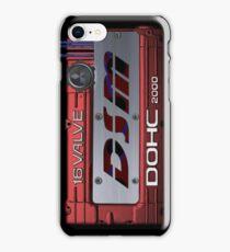 4g63 MITSUBISHI Valve Cover -IPHONE -Red/White - Steven iPhone Case/Skin