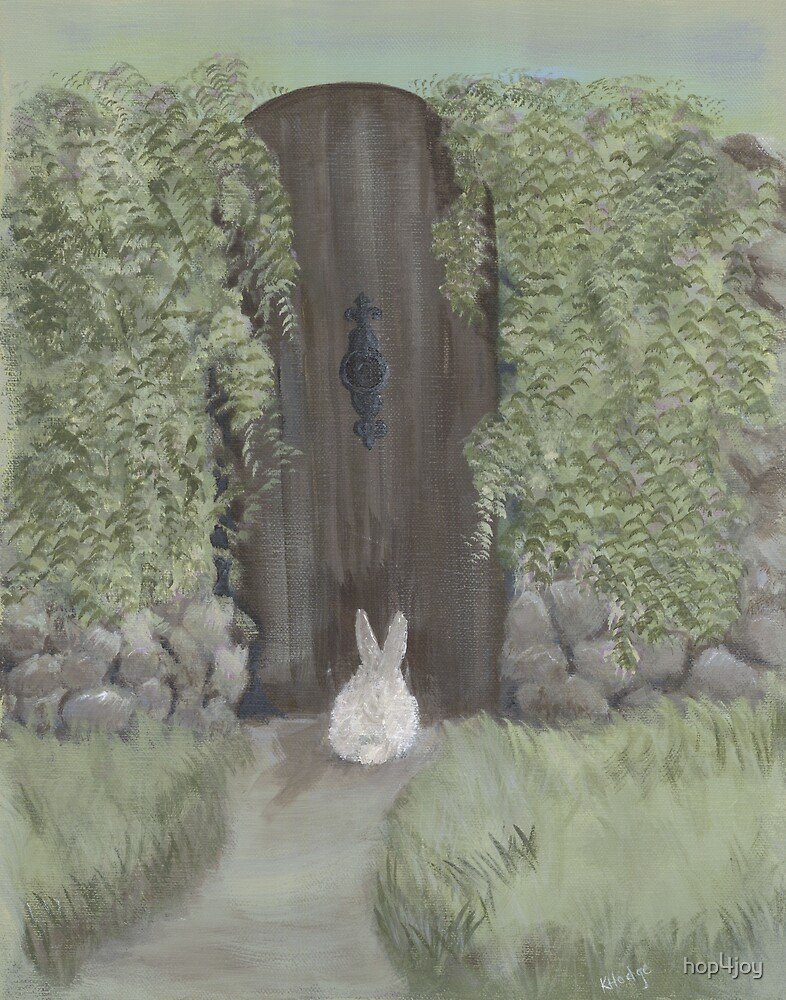 Bunny at the Gate by hop4joy