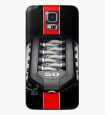 Funda/vinilo para Samsung Galaxy Ford Mustang 5.0 (iPhone y Samsung Case)