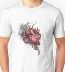 Three Hearts Shirt (for light shirts) Unisex T-Shirt