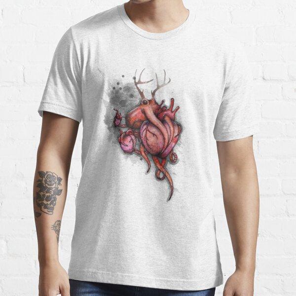 Three Hearts Shirt (for light shirts) Essential T-Shirt