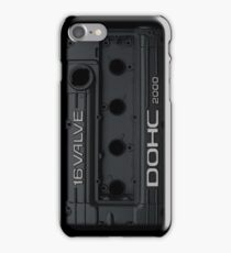 Mitsubishi Valve Cover 4G63 Black (iPhone) iPhone Case/Skin