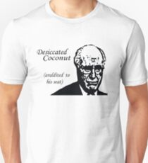 Desiccated Coconut Araldited To His Seat T-Shirt