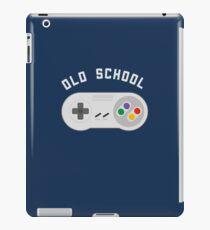 Retro Old School Gamer  iPad Case/Skin