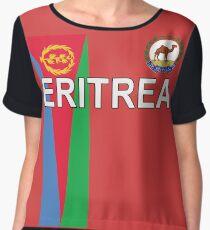 Eritrea National Jersey Shirt Design Chiffon Top