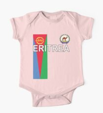 Eritrea National Jersey Shirt Design Kids Clothes