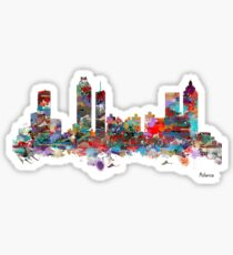 Atlanta city watercolor Sticker