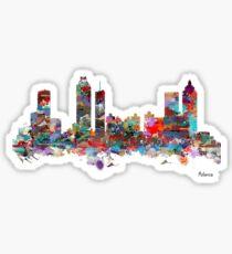 Atlanta city watercolor Sticker