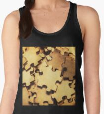 Antique puzzle of missing links Women's Tank Top