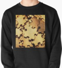 Antique puzzle of missing links Pullover