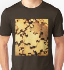 Antique puzzle of missing links T-Shirt