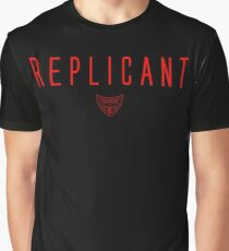 Blade Runner - Replicant - Red Clean Graphic T-Shirt