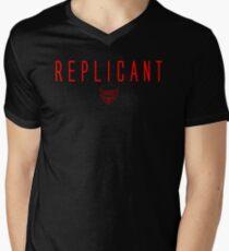 Blade Runner - Replicant - Red Clean T-Shirt