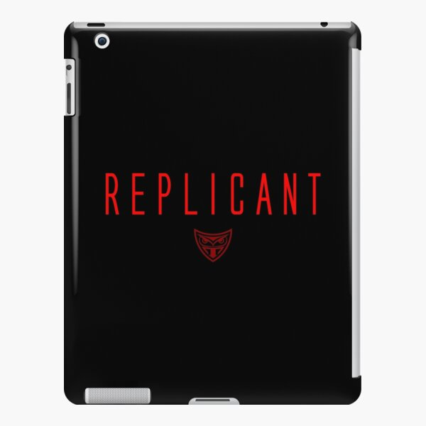 Blade Runner - Replicant - Red Clean iPad Snap Case