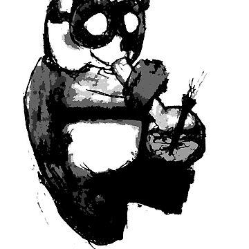 Panda by matsaxon