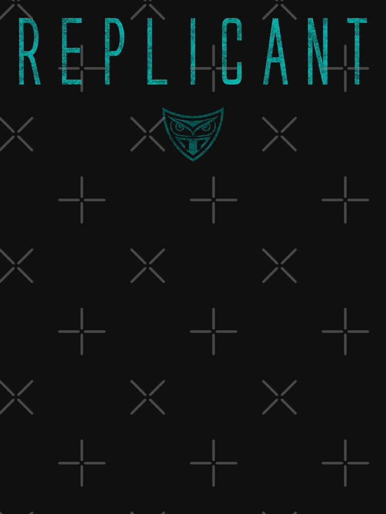 Blade Runner - Replicant - Teal Dirty by garudoh