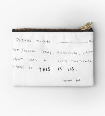 THIS IS US - PAPA PEARSON  Studio Pouch