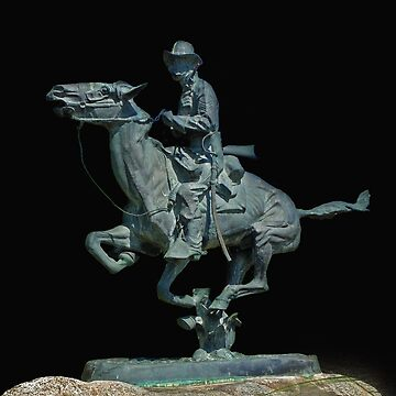 Trooper of the Plains by Fredric Remington by fotoguy